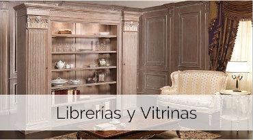 Ebanista en Madrid - Librerias y vitrinas de madera madrid